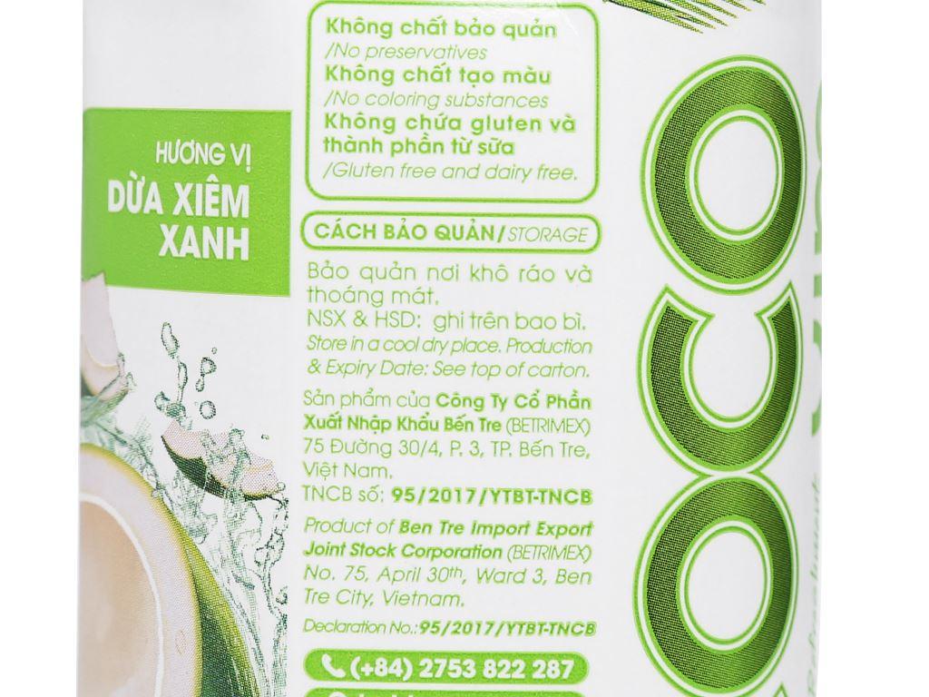 6 hộp nước dừa xiêm xanh Cocoxim 330ml 6