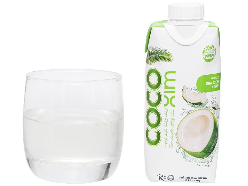 6 hộp nước dừa xiêm xanh Cocoxim 330ml 9