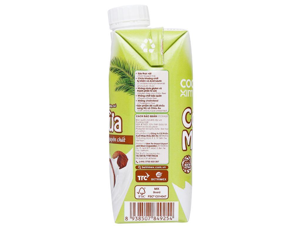 Thùng 12 hộp sữa dừa nguyên chất Cocoxim 330ml 5