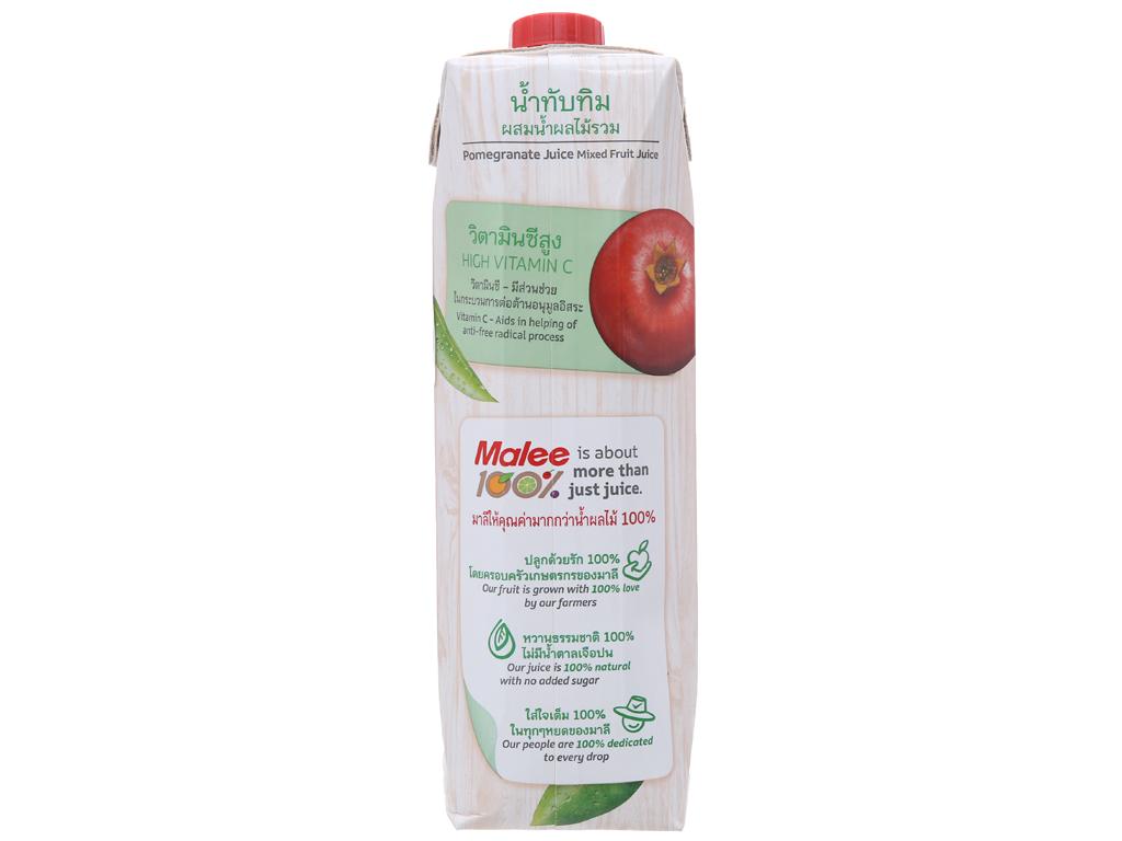 12 hộp nước ép lựu & trái cây hỗn hợp Malee 1 lít 2