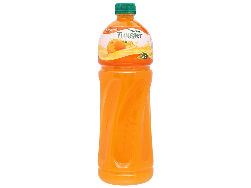 12 chai nước cam ép Twister 1 lít 2