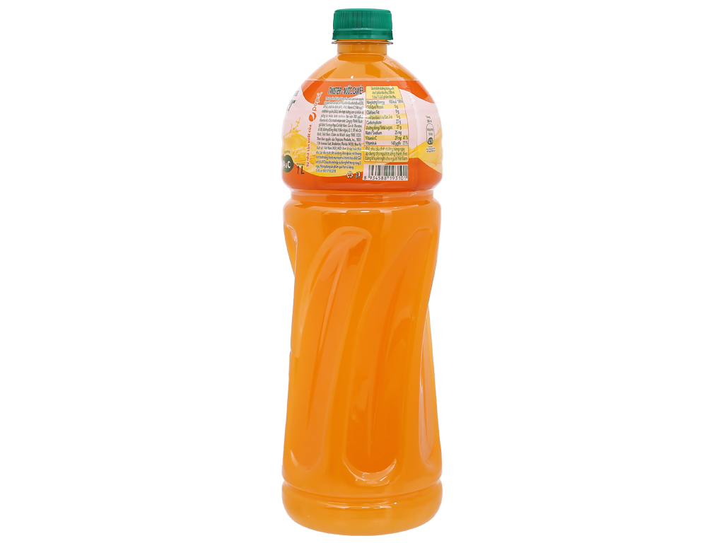 12 chai nước cam ép Twister 1 lít 3