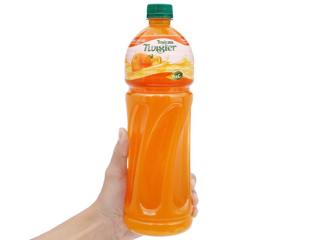 12 chai nước cam ép Twister 1 lít 5