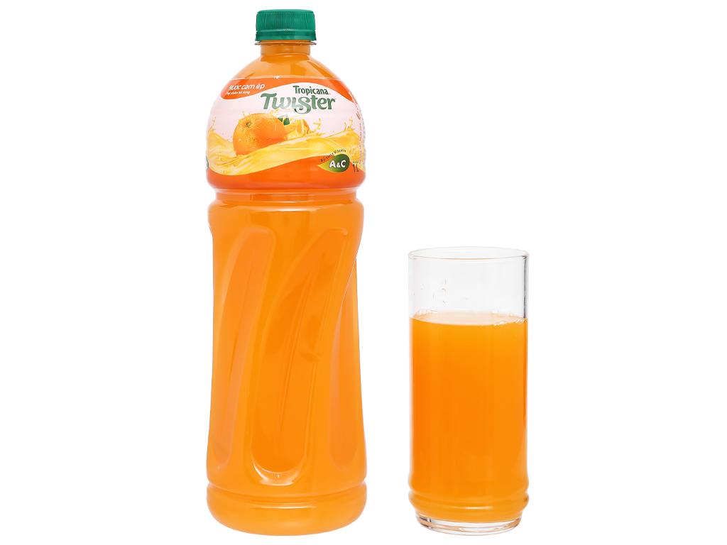 12 chai nước cam ép Twister 1 lít 6