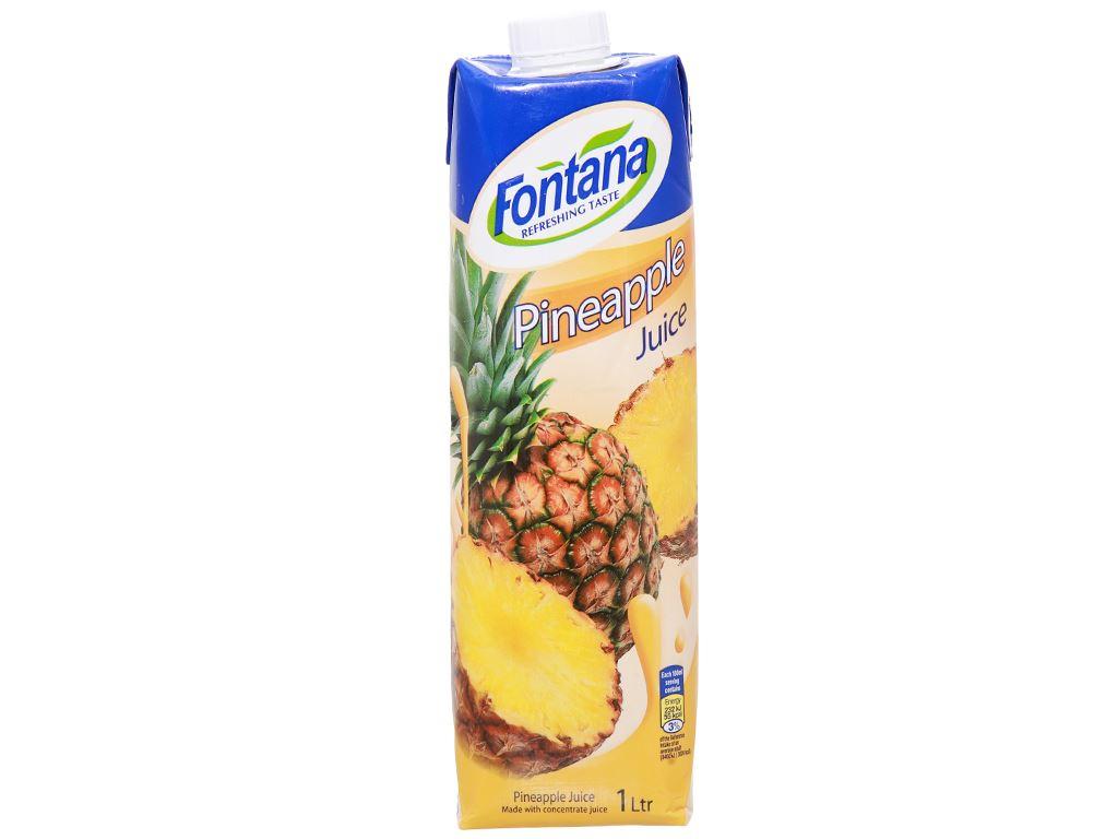 Nước ép dứa Fontana 1 lít 2