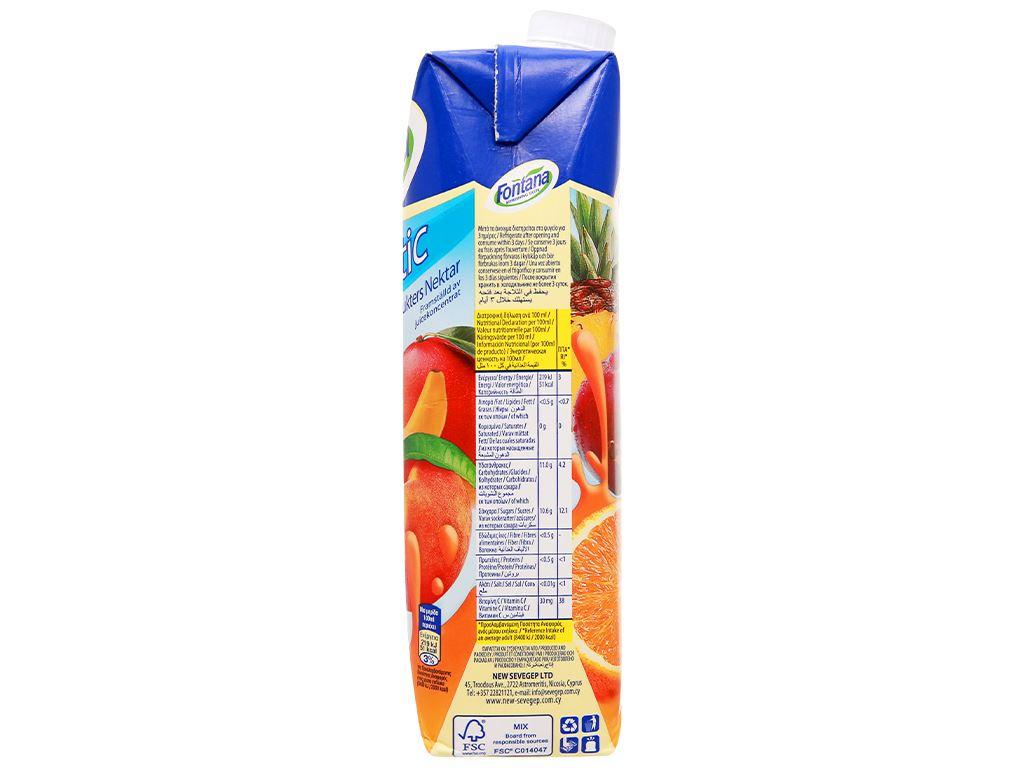 Nước ép trái cây nhiệt đới Fontana 1 lít 5