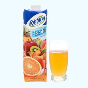Nước ép trái cây nhiệt đới Fontana 1 lít