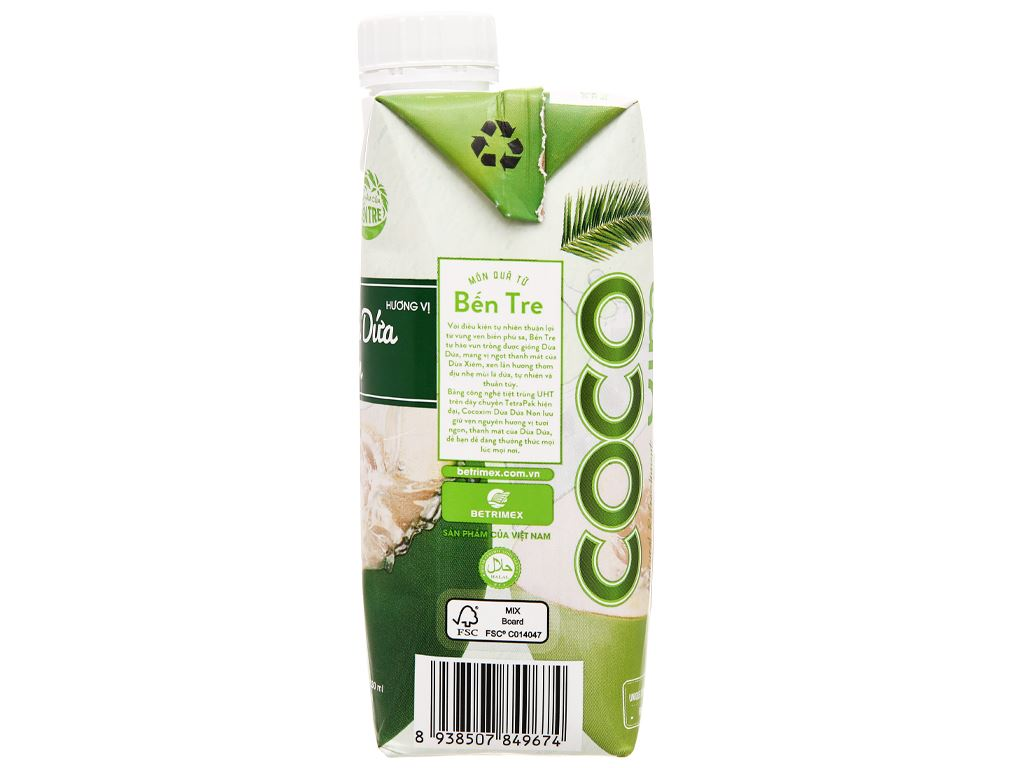 Nước dừa dứa non Cocoxim 330ml 2
