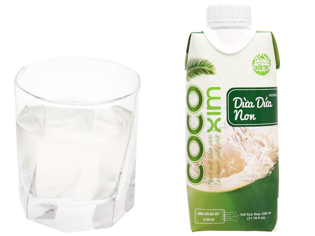 Nước dừa Cocoxim dừa dứa non 330ml 6