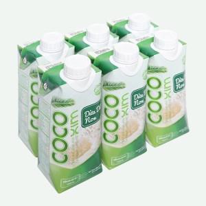 6 hộp nước dừa dứa non Cocoxim 330ml
