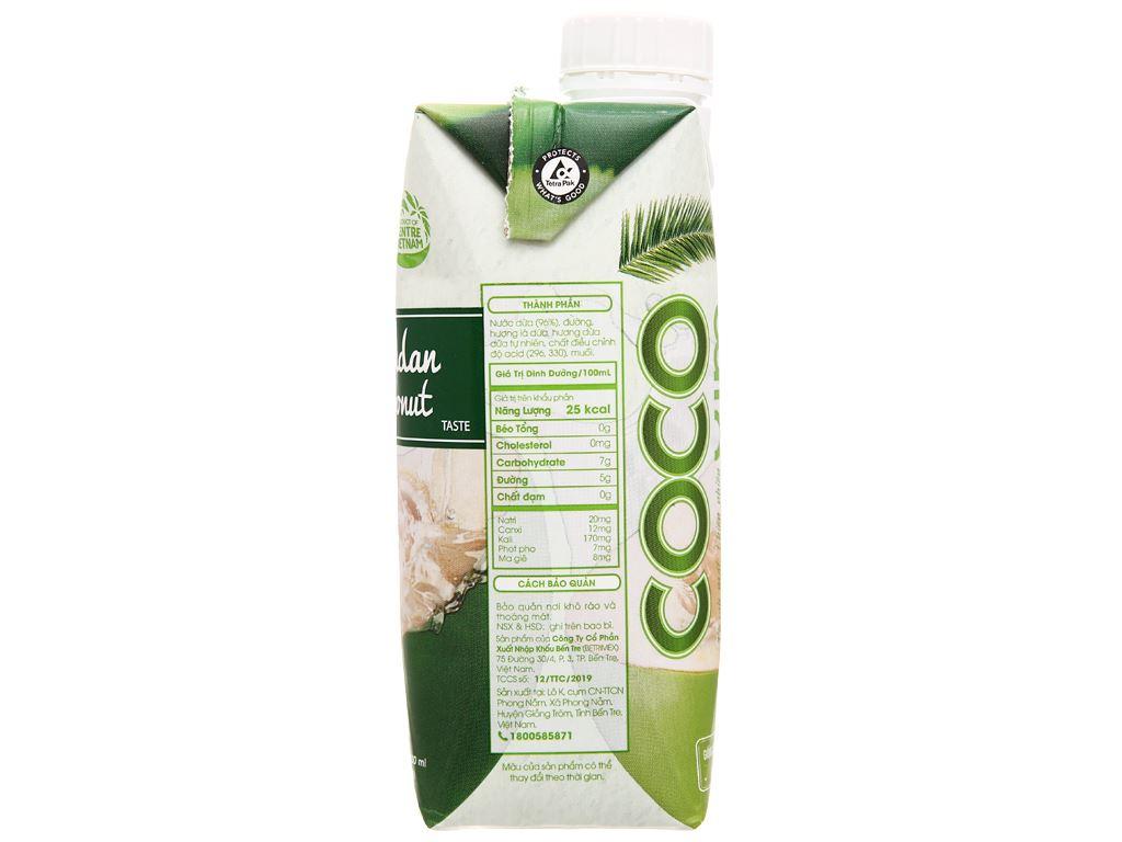 6 hộp nước dừa dứa non Cocoxim 330ml 4