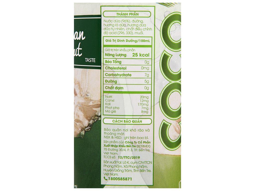 6 hộp nước dừa dứa non Cocoxim 330ml 5