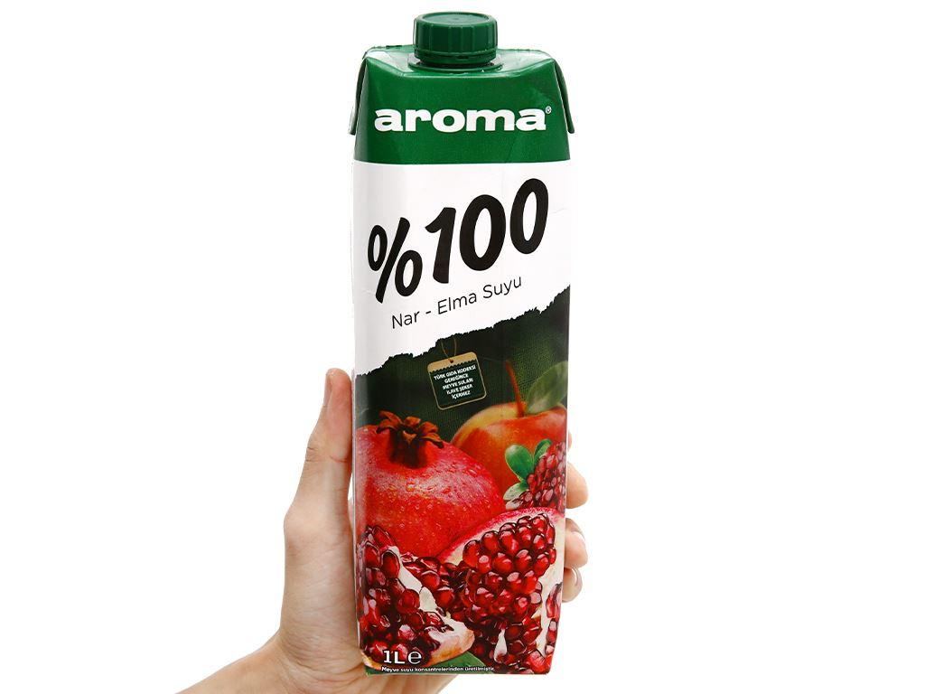 Nước ép lựu & táo Aroma 1 lít 10