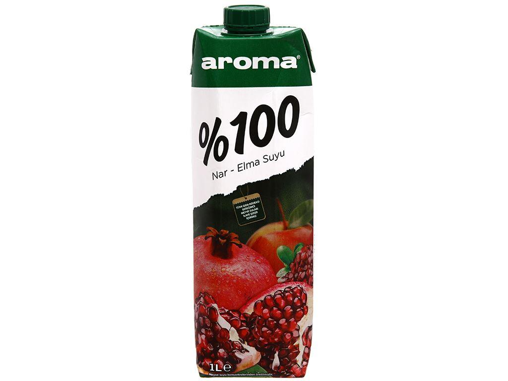 Nước ép lựu & táo Aroma 1 lít 2