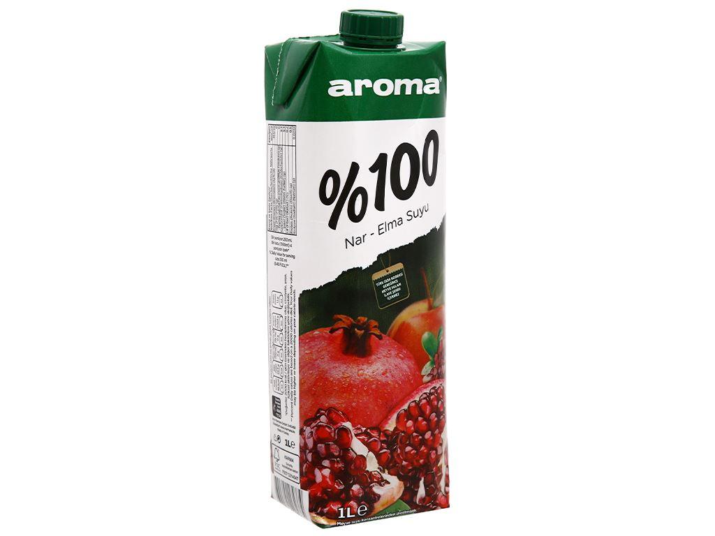 Nước ép lựu & táo Aroma 1 lít 3