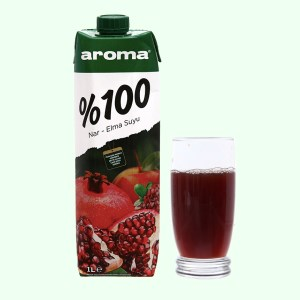 Nước ép lựu & táo Aroma 1 lít