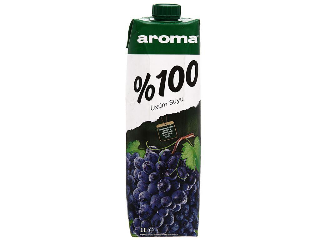 Nước ép nho Aroma 1 lít 2