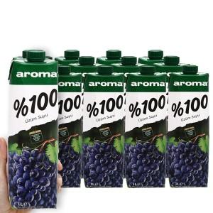 Thùng 12 hộp nước ép nho Aroma 1 lít