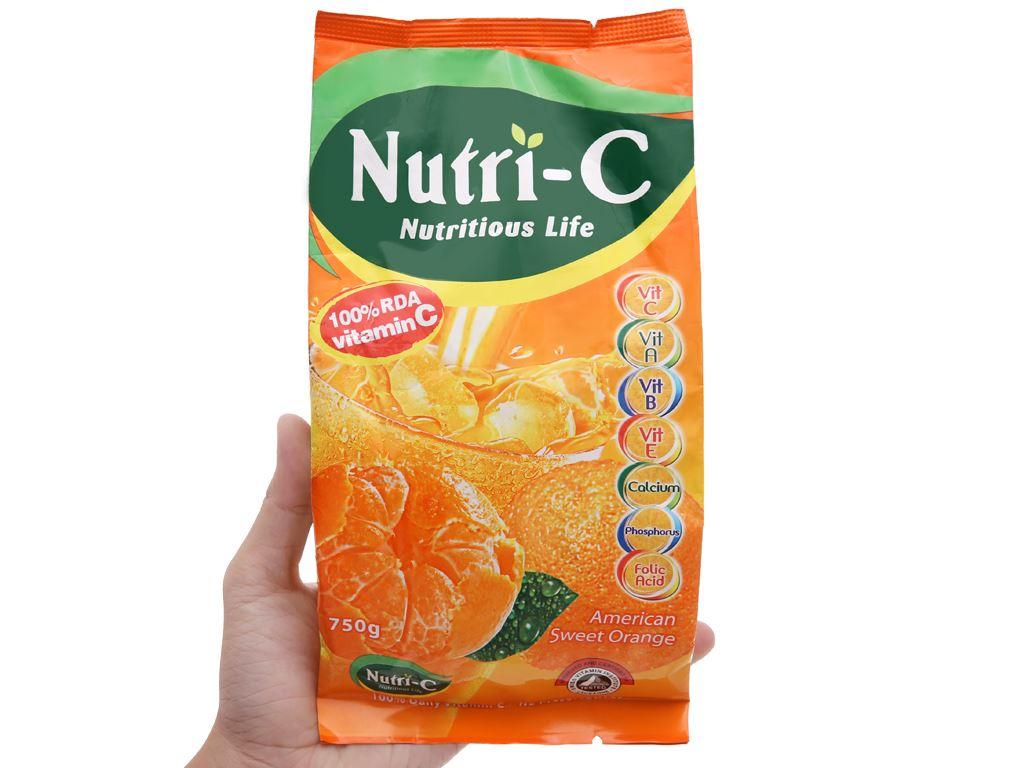 Bột cam Nutri-C 750g 9