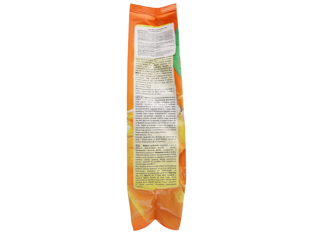 Bột cam Nutri-C 750g 4