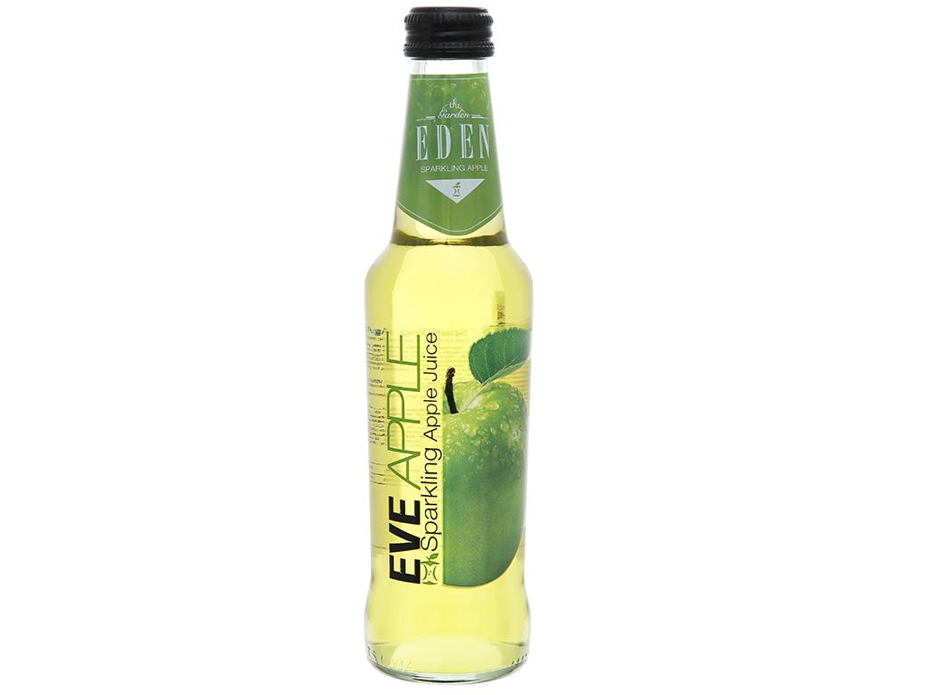 Nước ép táo có ga Eden Eva chai 275ml 3