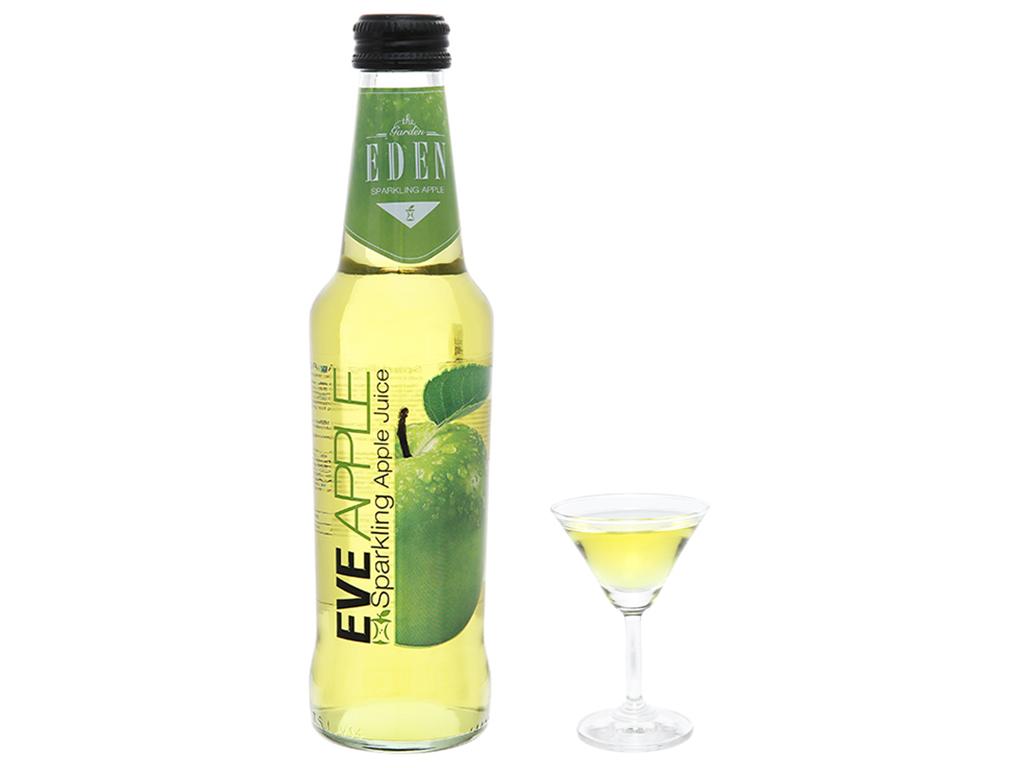 Nước ép táo có ga Eden Eva chai 275ml 10
