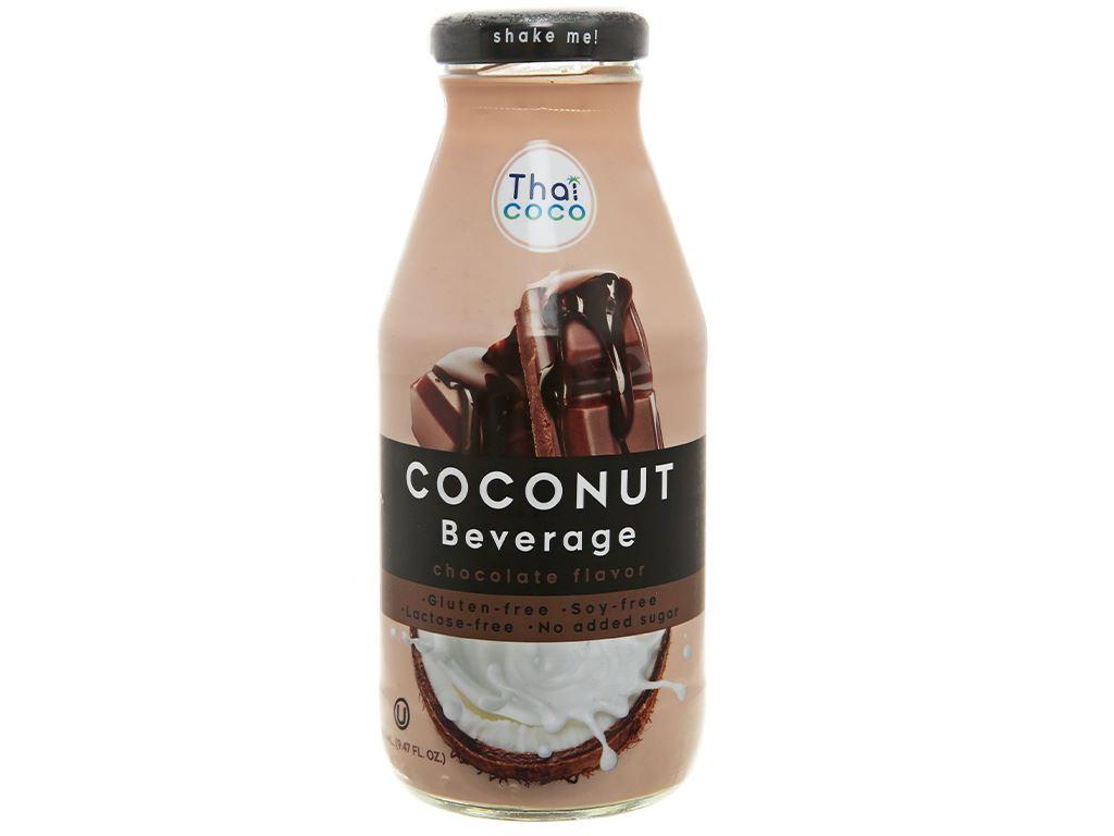 Sữa dừa Thai Coco vị socola 280ml 2