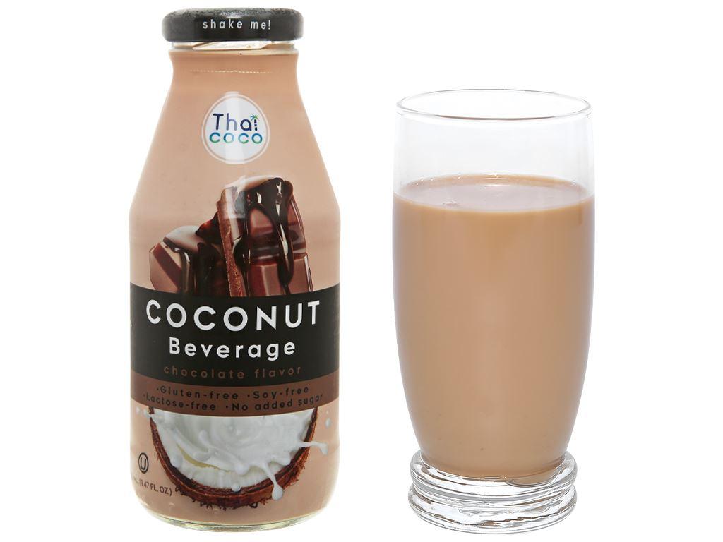 Sữa dừa Thai Coco vị socola 280ml 5