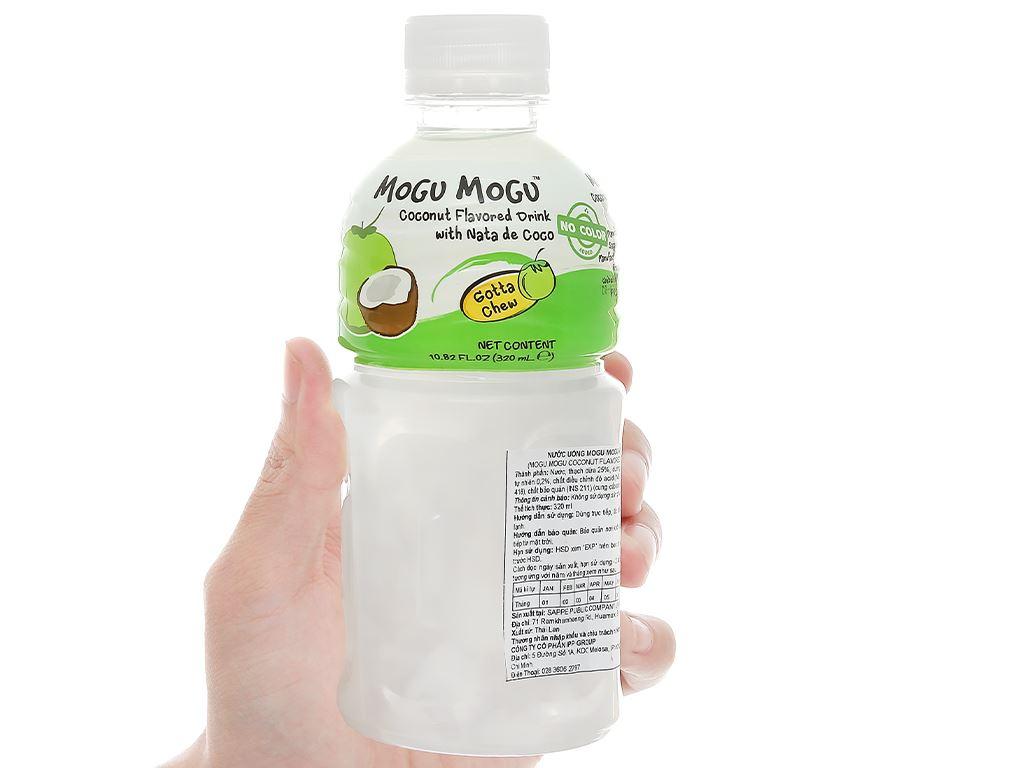 Nước uống có thạch dừa Mogu Mogu vị dừa 320ml 4