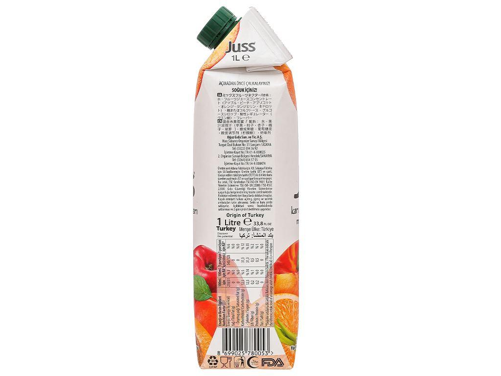 Nước ép nectar trái cây nhiệt đới Juss 1 lít 5