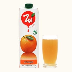Nước ép cam Zoi 1 lít