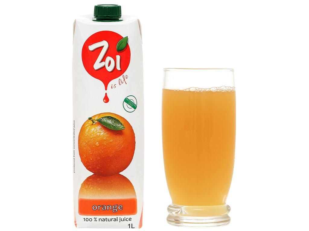 Nước ép cam Zoi 1 lít 7