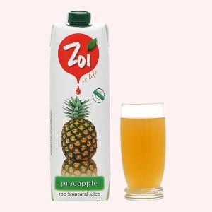 Nước ép thơm Zoi 1 lít