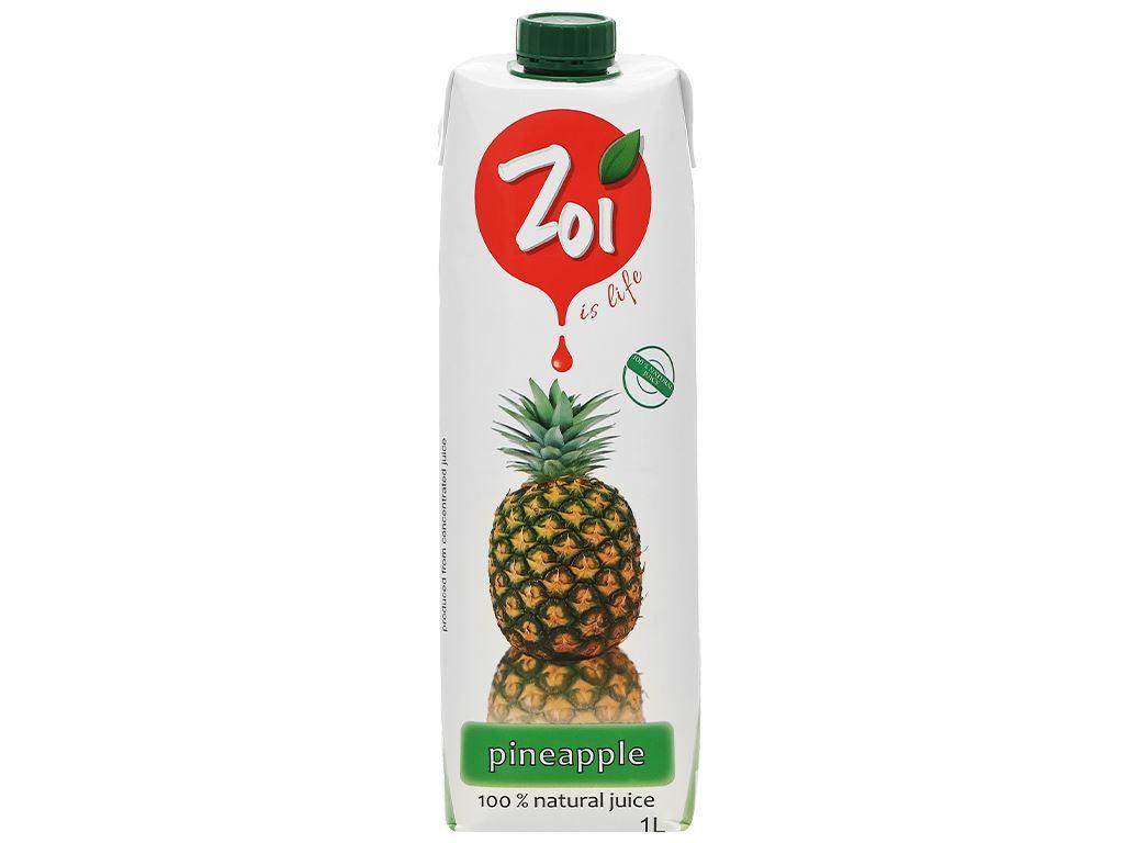 Nước ép thơm Zoi 1 lít 1