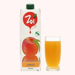 Nước ép nectar đào Zoi 1 lít