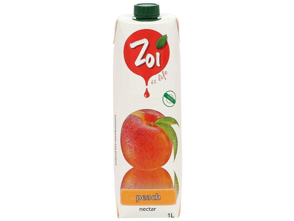 Nước ép nectar đào Zoi 1 lít 1