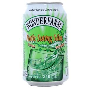 Nước giải khát Wonderfarm Sương Sâm lon 310ml