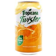 Nước cam nguyên tép Twister lon 320ml