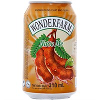 Nước me Wonderfarm lon 330ml