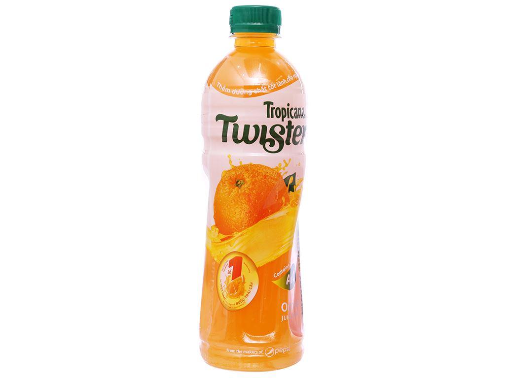 6 chai nước cam ép Twister Tropicana 455ml 5