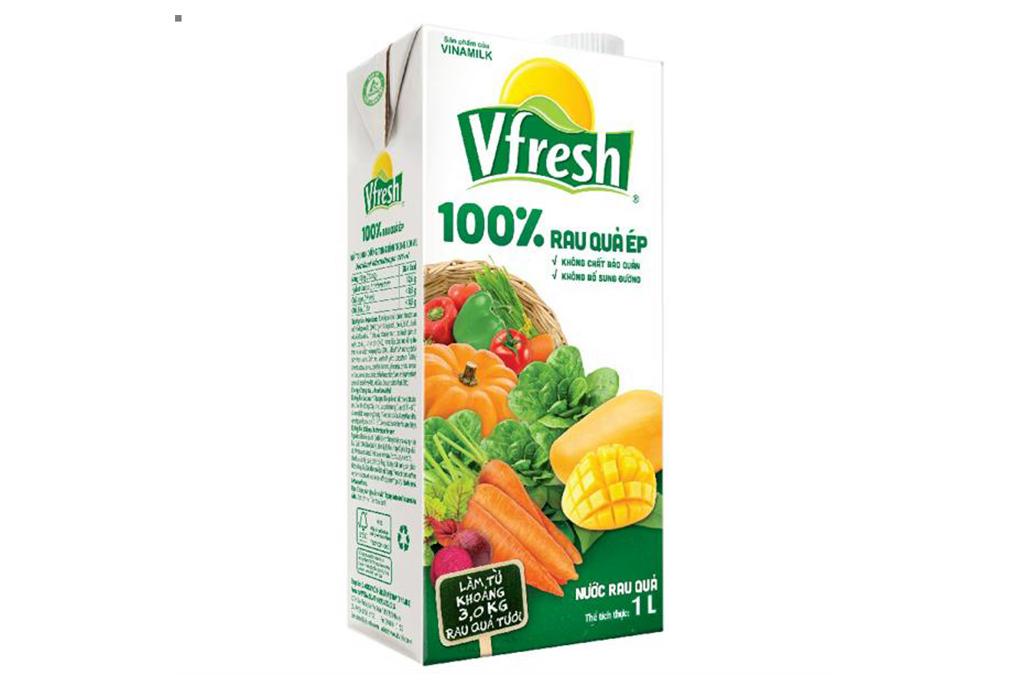 Nước ép rau quả Vfresh 1L 2