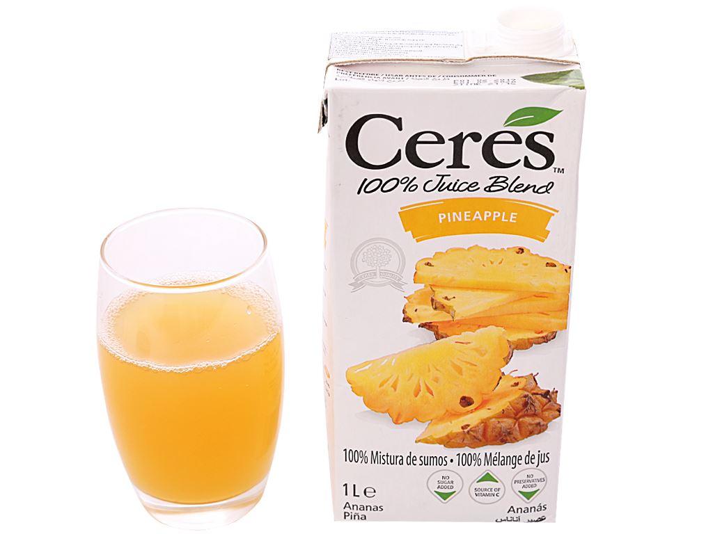 Nước ép dứa Ceres 1L 6