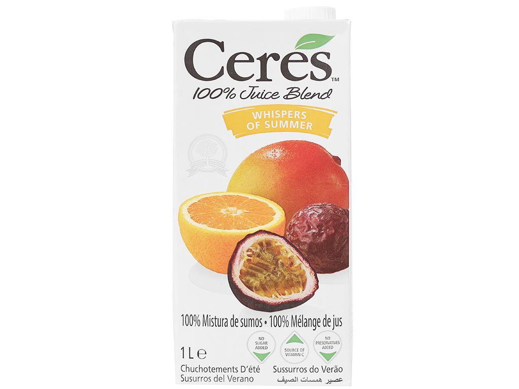Nước ép chanh dây Ceres 1L 1