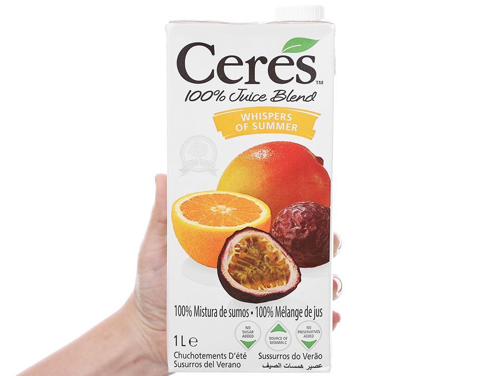 Nước ép chanh dây Ceres 1L 4