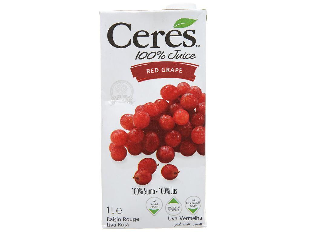 Nước ép nho Ceres 1L 1