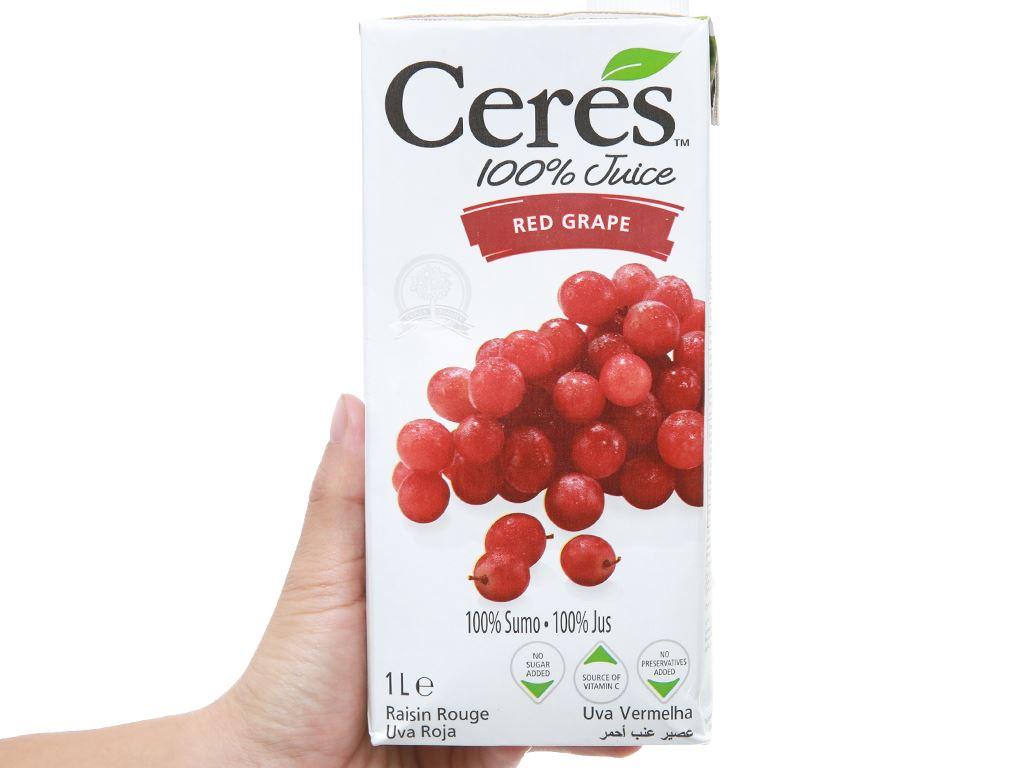 Nước ép nho Ceres 1L 5