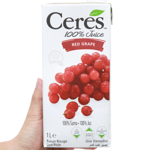 Nước ép nho Ceres 1L