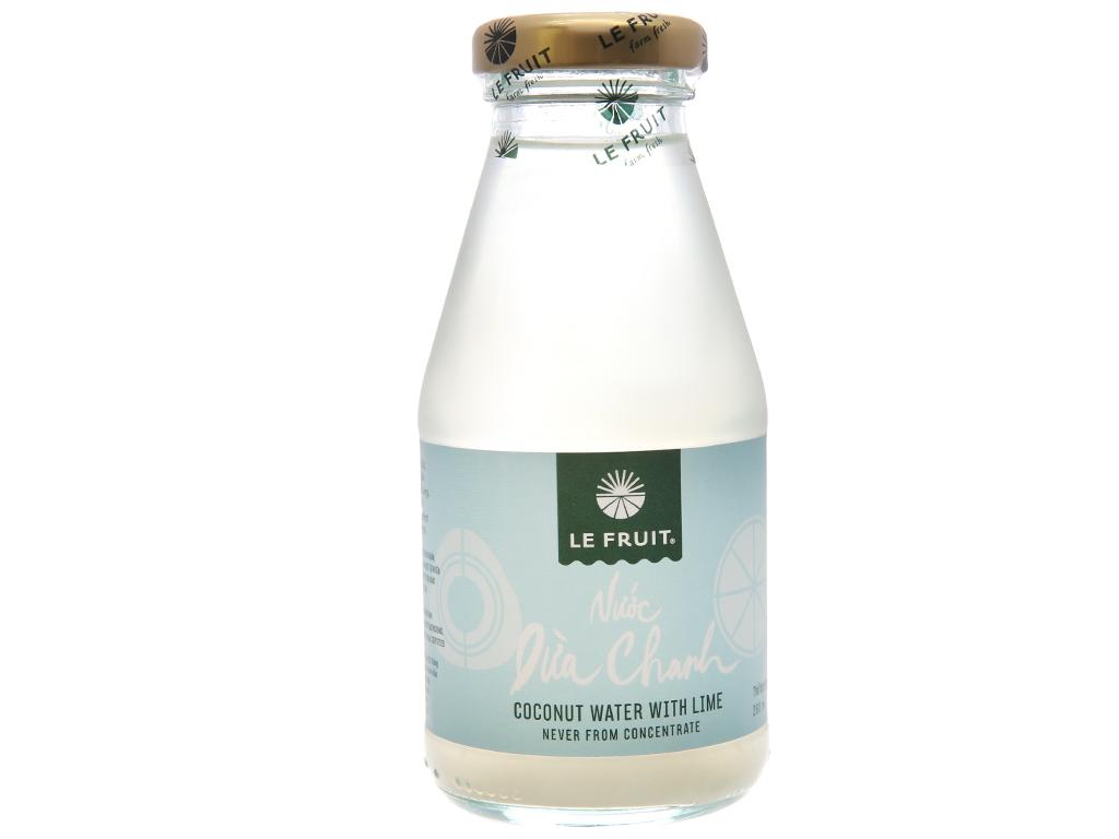 Nước ép dừa, chanh Le Fruit 260ml 1