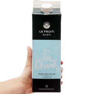 Nước dừa, chanh Le Fruit 1L