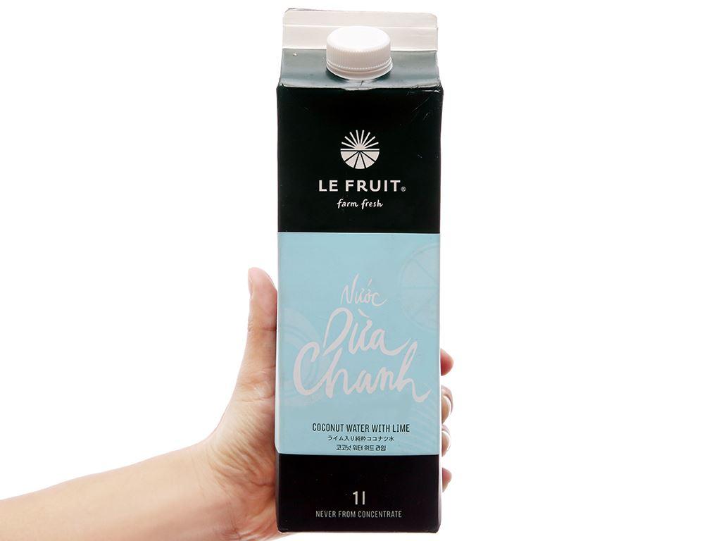 Nước dừa, chanh Le Fruit 1L 4